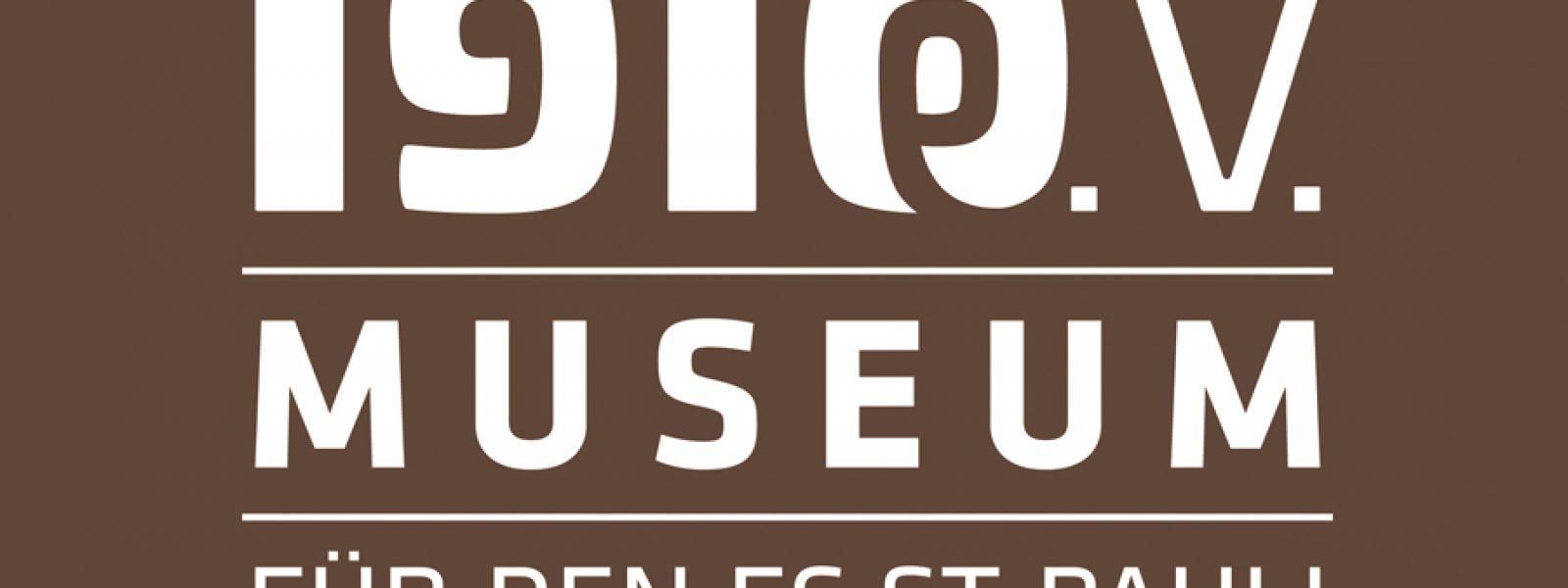 Logo 1910 - Museum für den FC St. Pauli e.V.. Gestaltung: DJ DSL